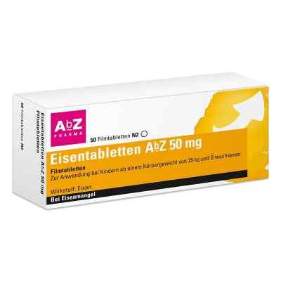 Eisentabletten AbZ 50mg  bei Apotheke.de bestellen