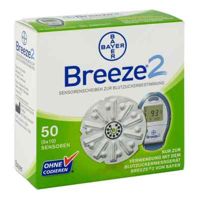 Breeze 2 Sensorenscheiben Teststreifen  bei Apotheke.de bestellen