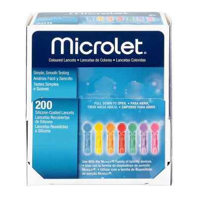 Microlet Lanzetten farbig  bei Apotheke.de bestellen