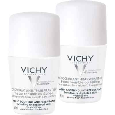 Vichy Deo Roll on Sensitiv Anti transparent 48h Doppelp.  bei Apotheke.de bestellen
