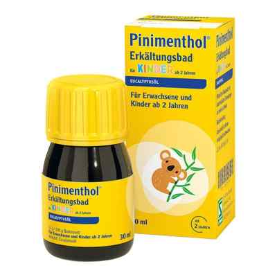 Pinimenthol Erkältungsbad für Kinder ab 2 Jahren Eucalyptus  bei Apotheke.de bestellen