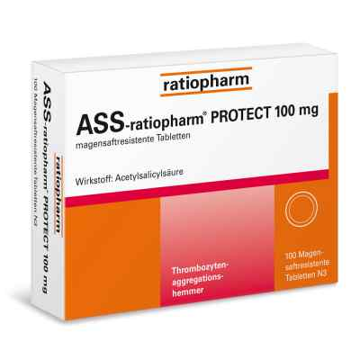 Ass Ratiopharm Protect 100 mg magensaftresistent Tabletten