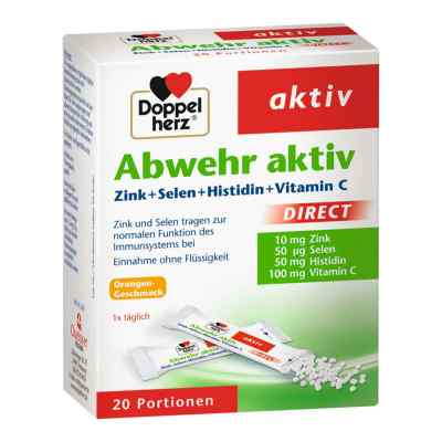 Doppelherz Abwehr aktiv dir.Zink+Sel.+Histid. Pel.  bei Apotheke.de bestellen