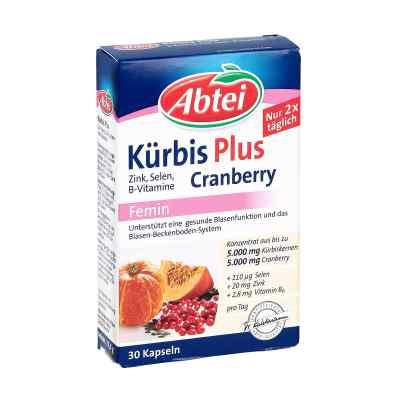 Abtei Kürbis Plus Cranberry+zink+b Vitamine kapseln