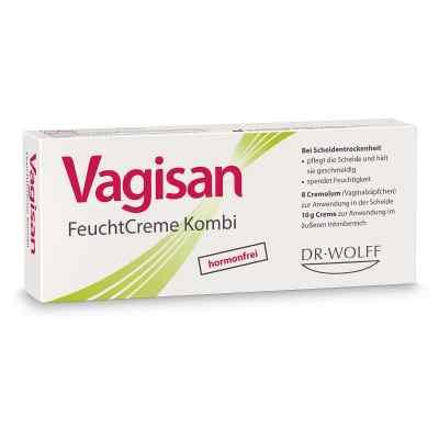 Vagisan Feuchtcreme Kombi 8 Ovula+10 g Creme  bei Apotheke.de bestellen