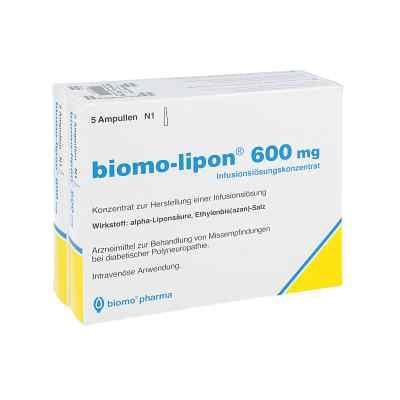 Biomo Lipon 600 mg Ampullen  bei Apotheke.de bestellen