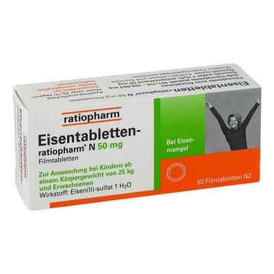 Eisentabletten-ratiopharm N 50mg  bei Apotheke.de bestellen
