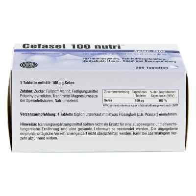 Cefasel 100 nutri Selen Tabs Tabletten  bei Apotheke.de bestellen