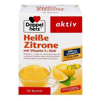 Doppelherz Heisse Zitrone Vitamin C + Zink Granula  bei Apotheke.de bestellen