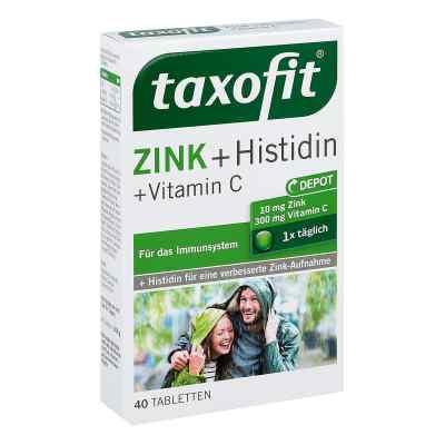 Taxofit Zink+histidin mit Vitamin C Tabletten