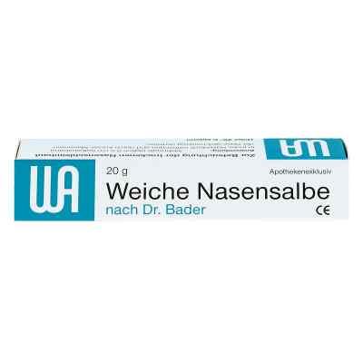 Weiche Nasensalbe noctu Doktor Bader  bei Apotheke.de bestellen