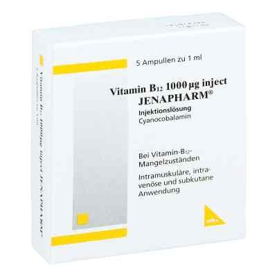 Vitamin B12 1000 [my]g Inject Jenapharm Ampullen  bei Apotheke.de bestellen
