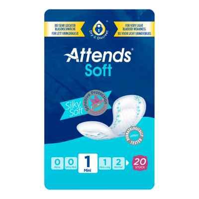 Attends Soft 1 mini Einlagen anatomisch  bei Apotheke.de bestellen