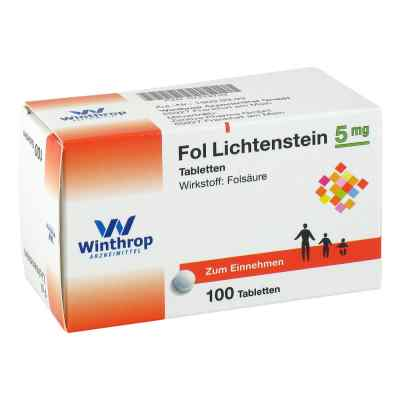 Fol Lichtenstein 5 mg Tabletten  bei Apotheke.de bestellen
