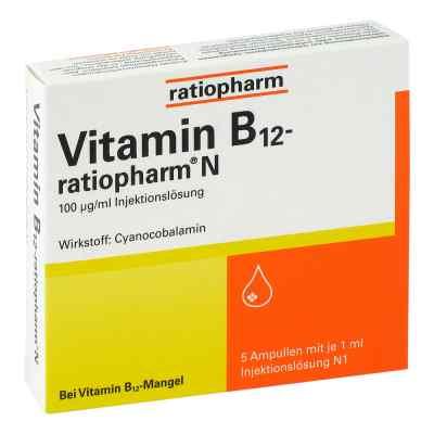 Vitamin B12 ratiopharm N Ampullen  bei Apotheke.de bestellen