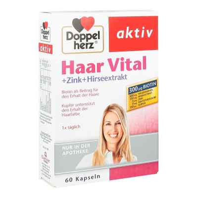 Doppelherz Haar Vital+zink+hirseextrakt Kapseln  bei Apotheke.de bestellen