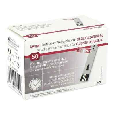 Beurer Gl32/gl34/bgl60 Blutzucker-teststreifen  bei Apotheke.de bestellen