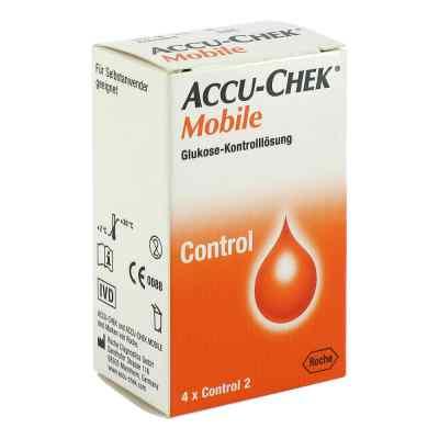 Accu Chek Mobile Kontroll Lösung  4 Einmalapplikat.  bei Apotheke.de bestellen