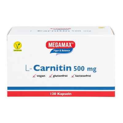 L-carnitin 500 mg Megamax Kapseln  bei Apotheke.de bestellen