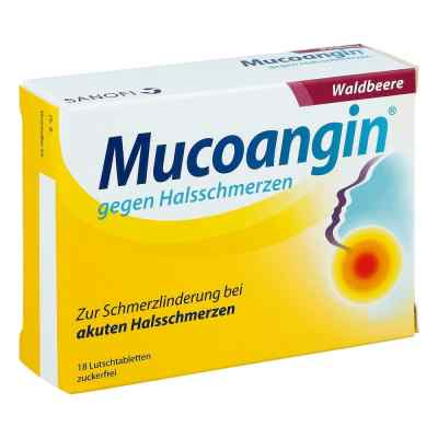 Mucoangin gegen Halsschmerzen Waldbeere Lutschtabletten  bei Apotheke.de bestellen