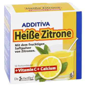 Additiva Heisse Zitrone Vitamin C+calcium Pulver