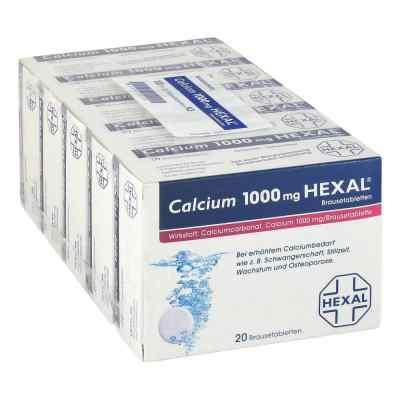 Calcium 1000mg HEXAL  bei Apotheke.de bestellen