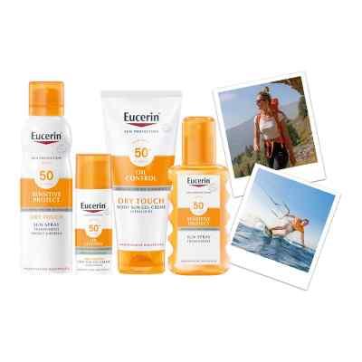 Eucerin Sun Sensitive Protect Spray Transparent LSF 50  bei Apotheke.de bestellen