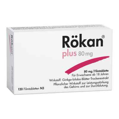 Rökan plus 80mg