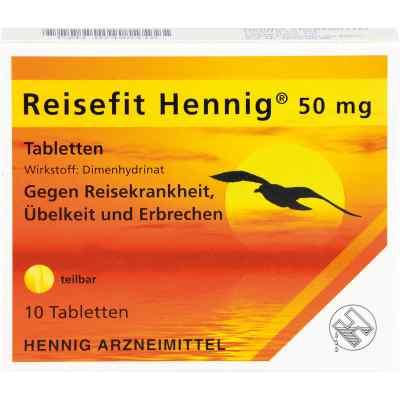 Reisefit Hennig 50 mg Tabletten  bei Apotheke.de bestellen