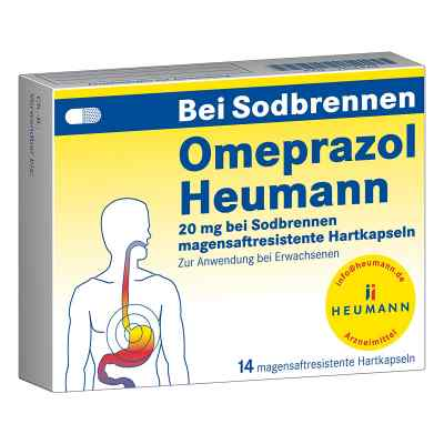 Omeprazol Heumann 20mg bei Sodbrennen  bei Apotheke.de bestellen