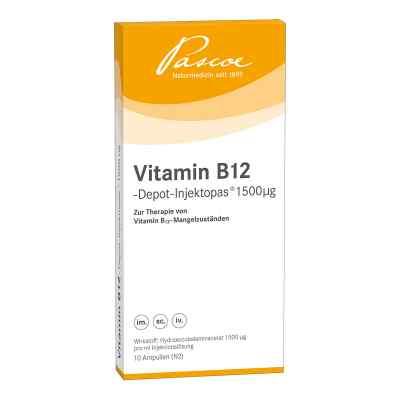Vitamin B12 Depot iniecto 1500 [my]g Injektionslösung  bei Apotheke.de bestellen