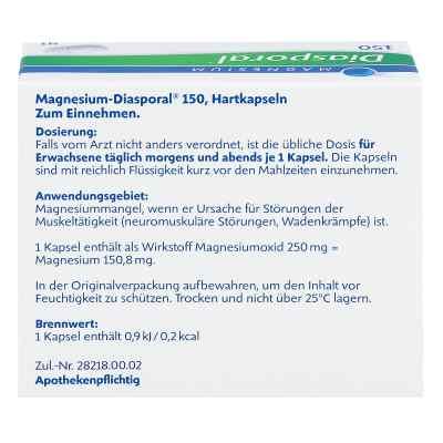 Magnesium Diasporal 150 Kapseln  bei Apotheke.de bestellen