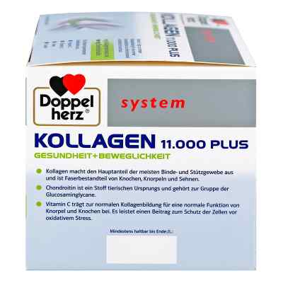 Doppelherz Kollagen 11000 Plus system Ampullen  bei Apotheke.de bestellen