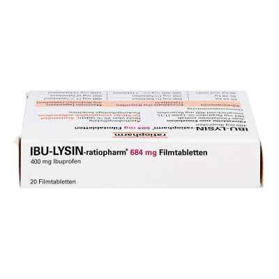 IBU-LYSIN-ratiopharm 684mg  bei Apotheke.de bestellen