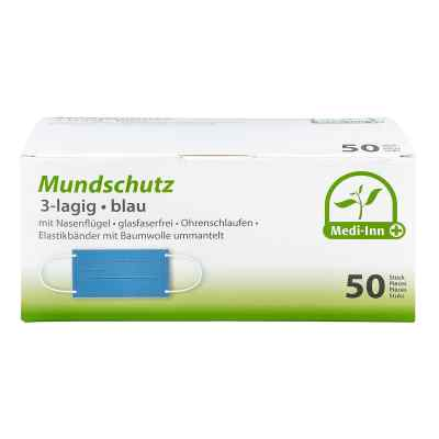 Medi Inn Mundschutz Maske mit Bändern blau  bei Apotheke.de bestellen