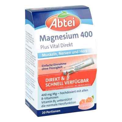 Abtei Magnesium 400+vitamin B Komplex Granulat  bei Apotheke.de bestellen