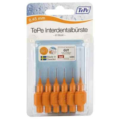 Tepe Interdentalbürste 0,45mm orange  bei Apotheke.de bestellen
