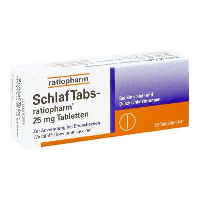 SchlafTabs-ratiopharm 25mg  bei Apotheke.de bestellen