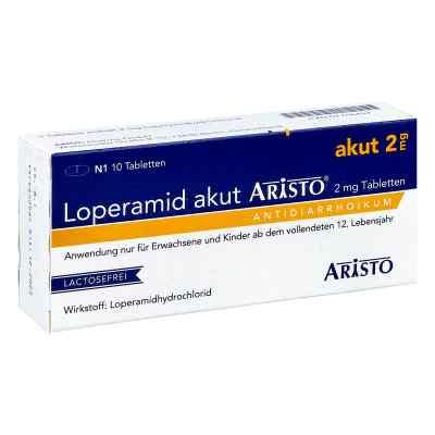 Loperamid akut Aristo 2mg  bei Apotheke.de bestellen