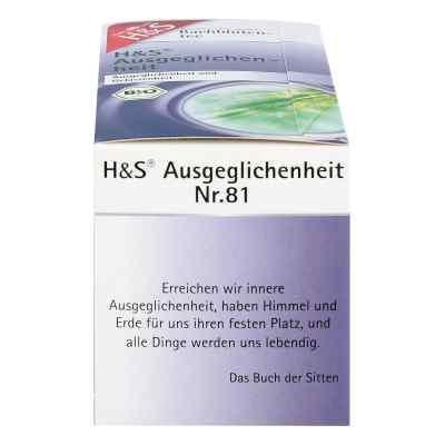 H&s Bachblüten Ausgeglichenheits-tee Filterbeutel  bei Apotheke.de bestellen