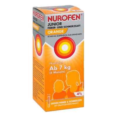 NUROFEN Junior Fieber- & Schmerzsaft Orange  bei Apotheke.de bestellen