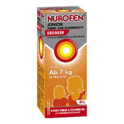Nurofen Junior Fieber- und Schmerzsaft Erdbeer 40mg/ml  bei Apotheke.de bestellen