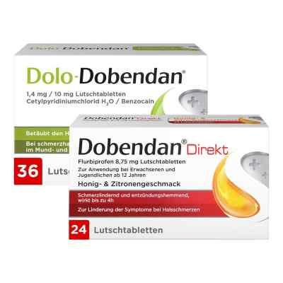 Dolo-Dobendan 36 stk + Dobendan Direkt Flurbiprofen 24 stk  bei Apotheke.de bestellen