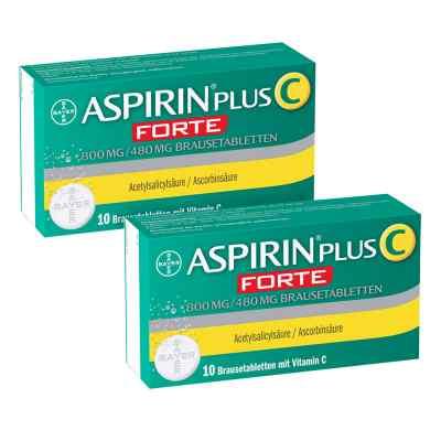 Aspirin plus C forte 800 mg/480 mg Brausetabletten  bei Apotheke.de bestellen