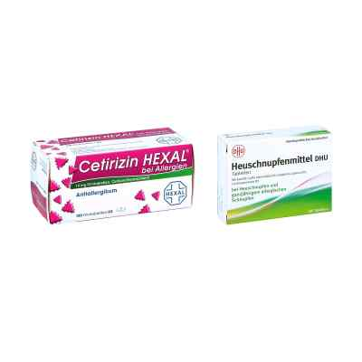 Heuschnupfenmittel DHU Tabletten - Cetirizin HEXAL  bei Apotheke.de bestellen
