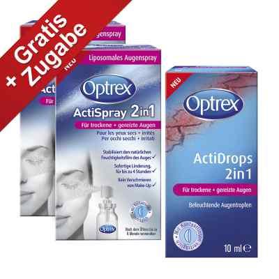 Optrex Actispray 2in1 für trockene+gereizte Augen  bei Apotheke.de bestellen