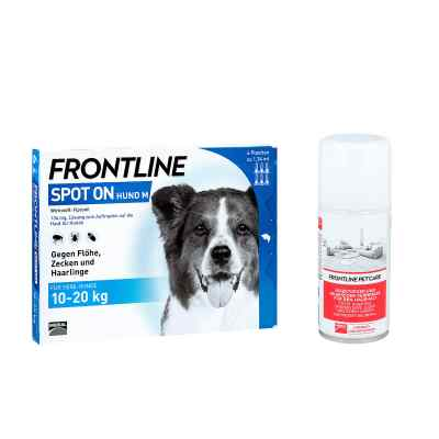 anti floh set f r hunde frontline spot on h 20 veterin r. Black Bedroom Furniture Sets. Home Design Ideas