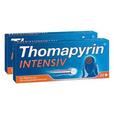 Thomapyrin INTENSIV bei Migräne & Kopfschmerzen Doppelpack  bei Apotheke.de bestellen