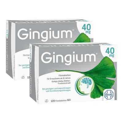 Gingium 40mg  bei Apotheke.de bestellen
