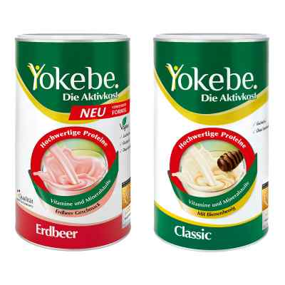Yokebe Classic & Erdbeer Starterpaket  bei Apotheke.de bestellen